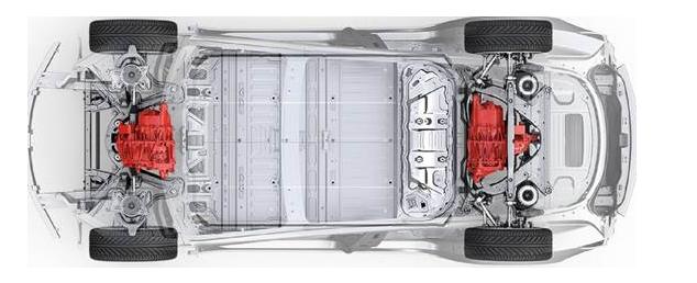 特斯拉双电机版Model 3设计图曝光 2018年春季有望上市