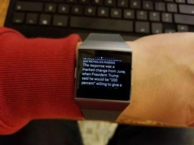 Fitbit Ionic:第一款出色的智能手表 健身、续航、智能功能方面都不错