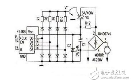 可控硅调速器电路图