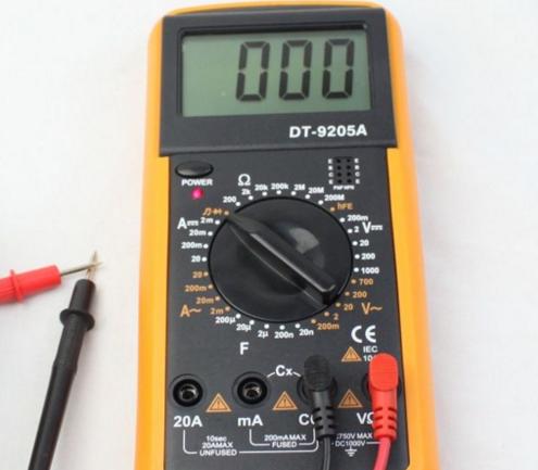 万用表如何测量led灯好坏