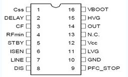 L6599设计心得(L6599引脚及其功能)