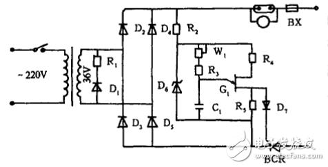 简单可控硅充电机制作(二) - 简单可控硅充电机制作(四款可控