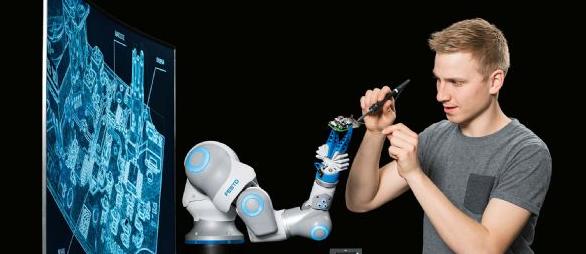 Festo黑科技推应用仿生技术的协作机器人