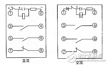 8脚继电器接线图(图文详解)