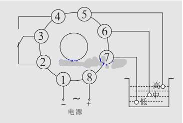 220v液位继电器接线图(图文详解)