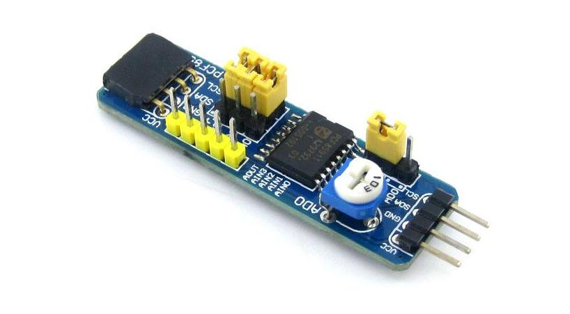 ADC0834模块的C51源程序