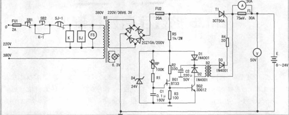 自制可调电流充电机(三款电路原理图详解)