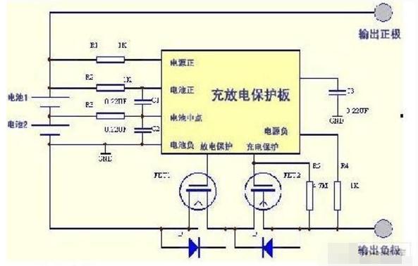 3.7v锂电池充电电路图(几款锂电池充电电路原理详解)