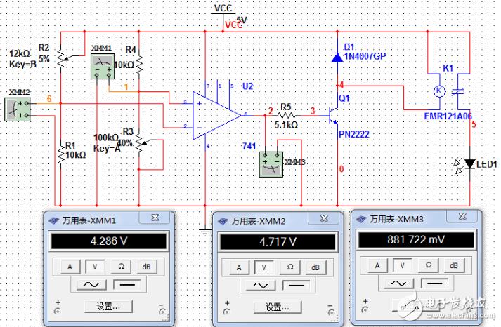 自制5v光控開關原理圖(幾款模擬電路設計原理
