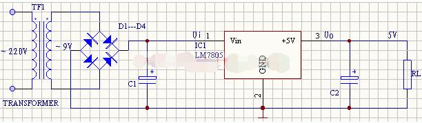 常见稳压电源电路设计汇总(五款模拟电路设计原理图...