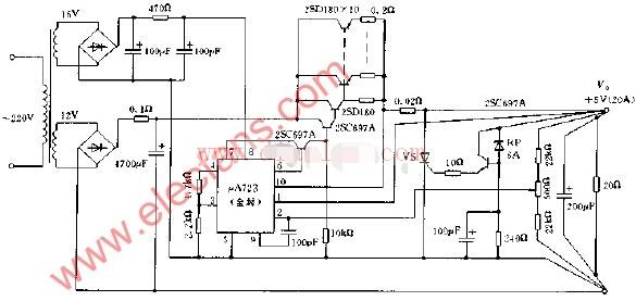 常见稳压电源电路设计汇总(几款模拟电路设计原理图)