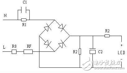阻容降压电源 - 常见led驱动电源电路设计大全(十款图