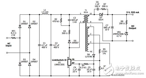 无感电容_led驱动电源电路设计(三) - 常见led驱动电源电路设计大全(十 ...