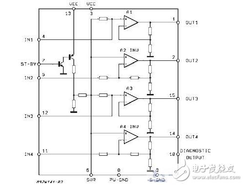 tda7379应用电路图分享(多媒体音响)