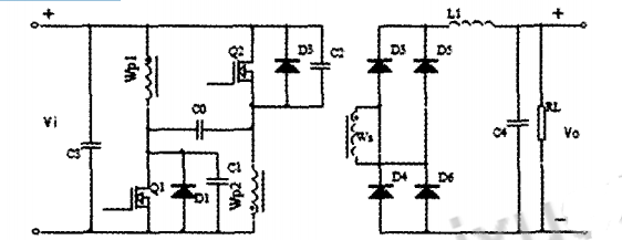 基于UC3846的推挽正激DC-DC变换器的设计