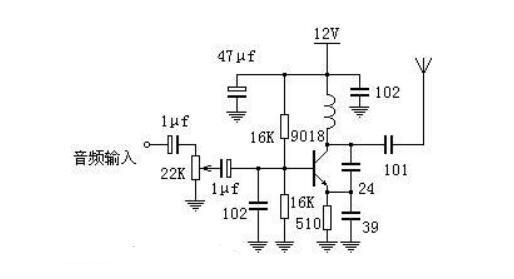 最简单无线发射电路图大全 超声波发射 射频收发电路 调频发射器