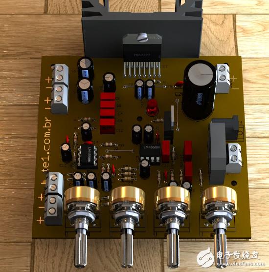 tda7377自制功放电路图