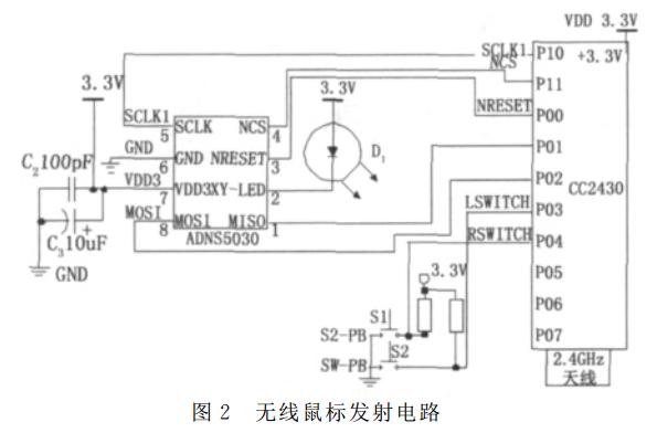 无线鼠标系统电路设计方案大全(三款电路设计原理详细)