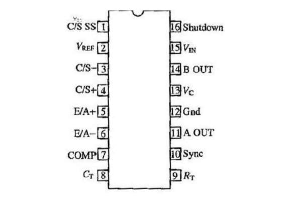 uc3846工作时各脚电压分别是多少