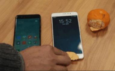 橘子皮秒开指纹解锁 指纹验证手机质量遭到怀疑