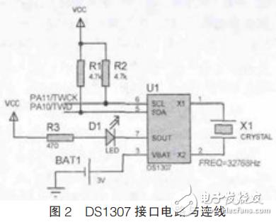 基于ARM和DS1307的实时时钟系统设计