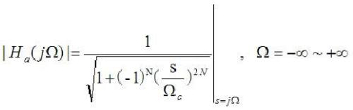 巴特沃斯滤波器c语言代码
