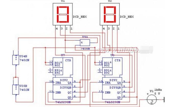 数字时钟电路原理图_【图】数字电子时钟电路图设计原理555-日用电子_装装修