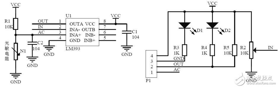 光敏传感器的工作原理