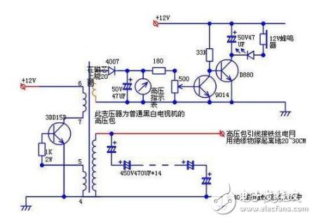 场管自激逆变器电路图文详解