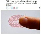 橘子皮都能打开手机?是否打脸指纹安全解锁性能?