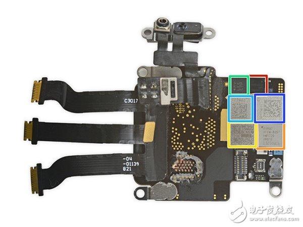 Apple Watch 3蜂窝网络版拆解:芯片坏了不好修