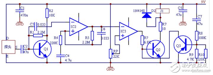 热释电红外传感器结构及型号 - 全文