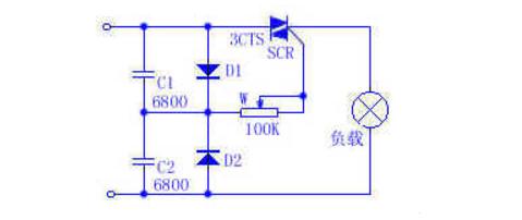 12v单向可控硅触发电路图(可控硅控制电路的制作13例)