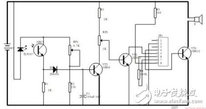 如朗鑫烟雾报警器内部采用离子式烟雾传感,它是一种技术先进,工作稳定