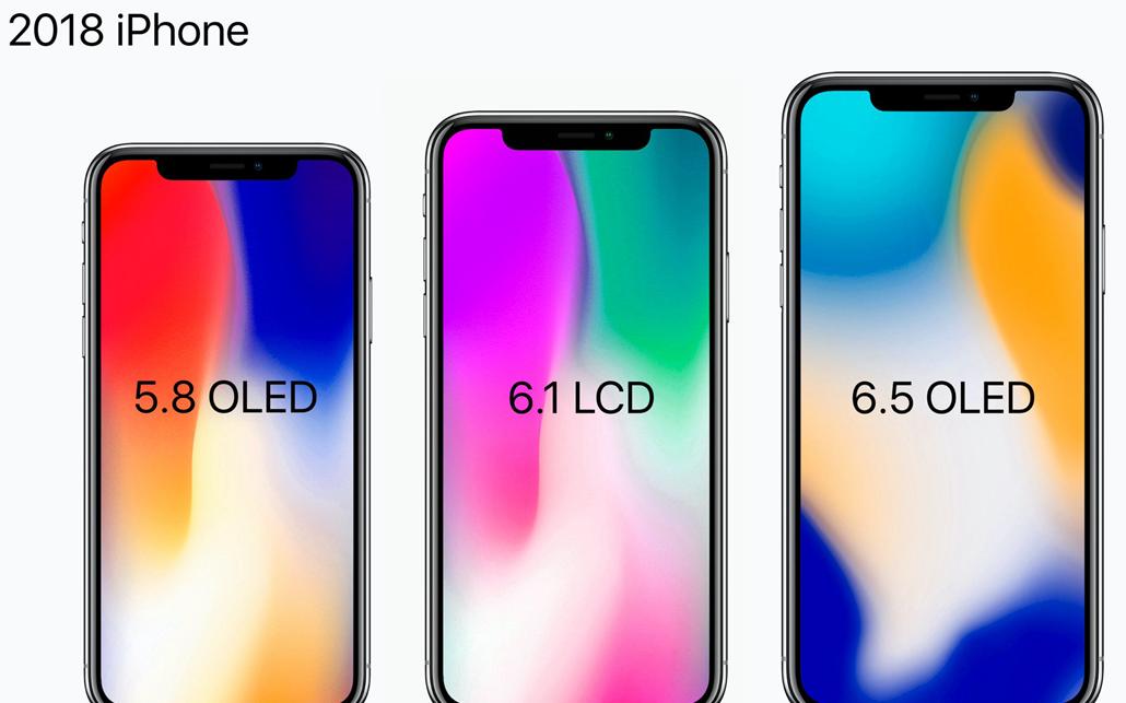 传6.1英寸廉价版iPhone X将搭载JDI全...