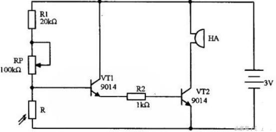 光控报警器电路设计方案汇总(?#30446;?#27169;拟电路设计原理图详解)