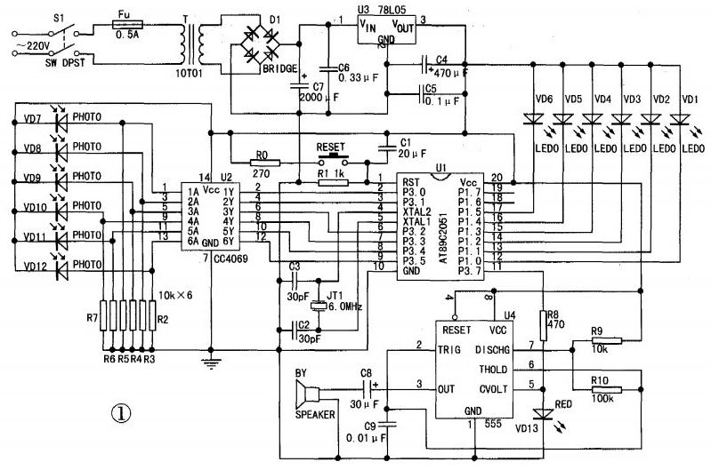 红外线报警器电路设计方案汇总(八款模拟电路设计原理图详解)