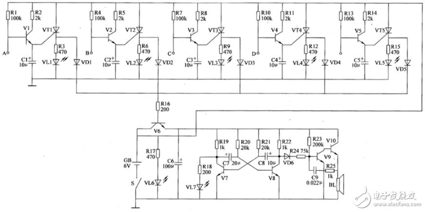 断水报警器电路设计方案汇总(四款模拟电路设计原理图详解)