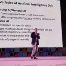关于人工智能的两种不同的目标或者理念的解析