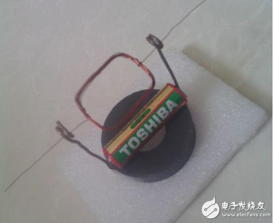 简易电池小电动机制作