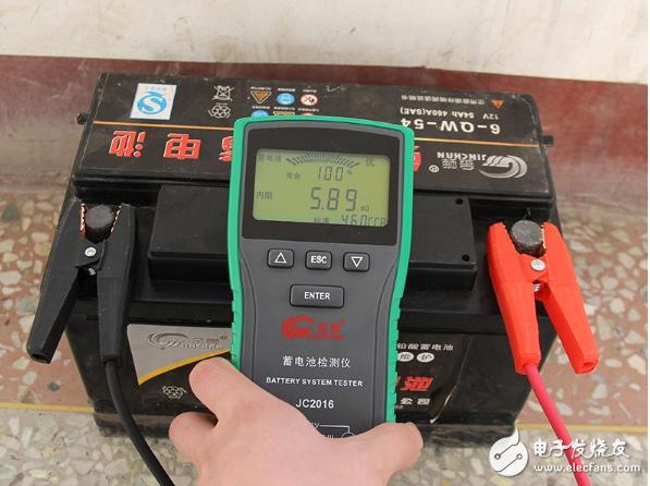 蓄电池测试仪器怎么使用