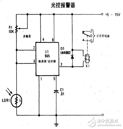 光控报警器电路设计方案汇总(四款模拟电路设计原理图详解)