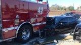 特斯拉的驾驶系统看不到消防车?