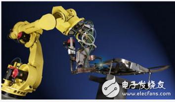 介绍工业机器人应用的10个行业