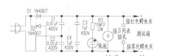 自制晶体管耐压测试器