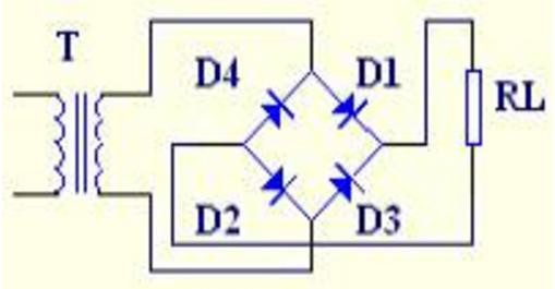 桥式整流器原理及作用