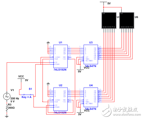 计数报警器电路设计方案汇总(多款模拟电路设计原理图