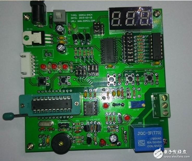 74LS164在S3F9454单片机控制电路中的应用