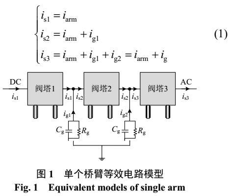 多电平换流器子模块均压特性研究