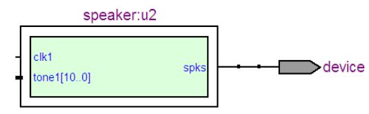 基于vhdl蜂鸣器程序设计详解